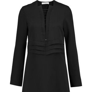 IRO lace-up pleated crepe dress L/ 40fr